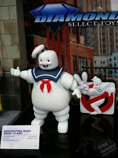 Diamond Select Real Ghostbusters Cartoon 7 inch action figures Stay Puft Marshmallow Man