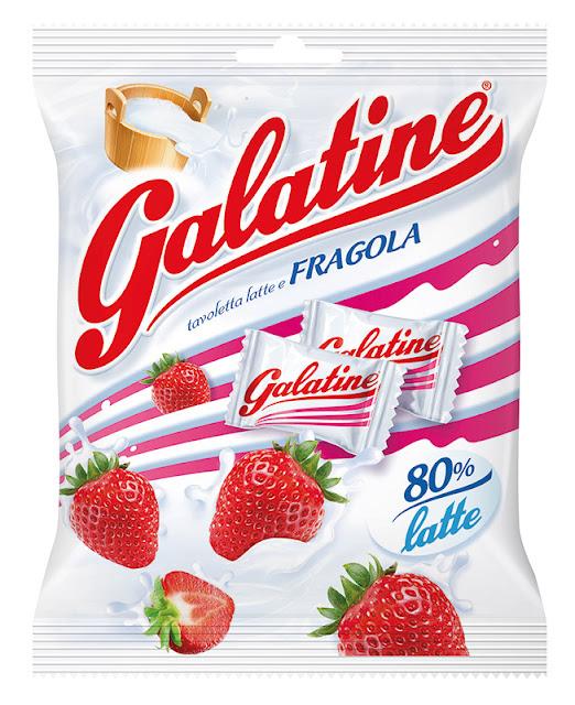 Le nuove Galatine al gusto latte e fragola