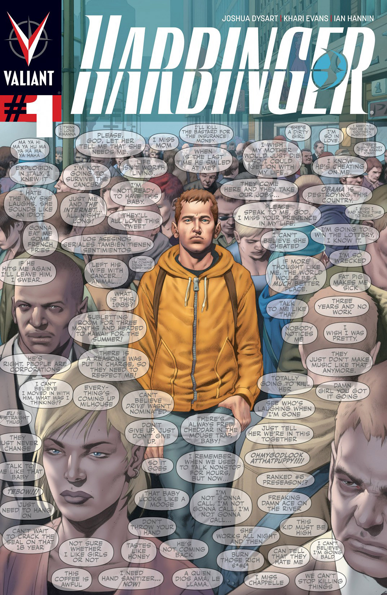 Harbinger (2012) issue 1 - Page 1