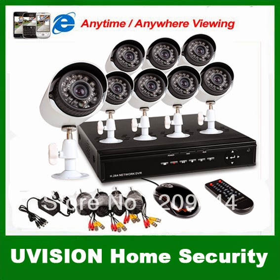UVISION Home CCTV Security System
