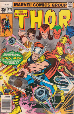 Thor #271, Iron Man