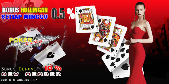 POKERBINTANG, Real Poker 100 % Tanpa Robot & Paling Fair Play