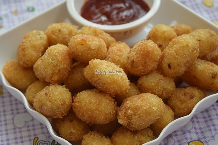 Spicy-Potato-Nuggets-Easy-Party-Starter-Recipe-Magic-of-Indian-Rasoi-Priya R