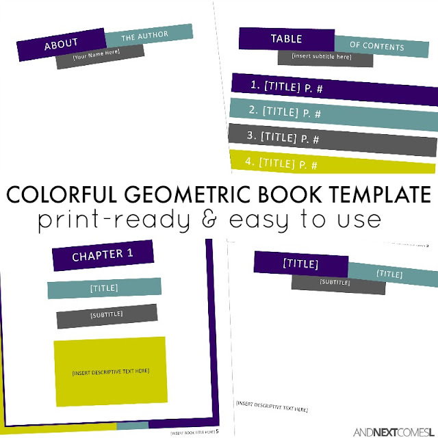 Book templates for Microsoft Publisher