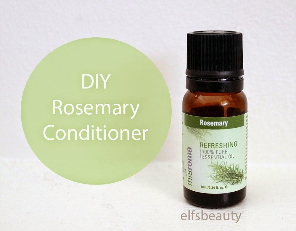 Elf's Beauty: DIY | Rosemary Conditioner