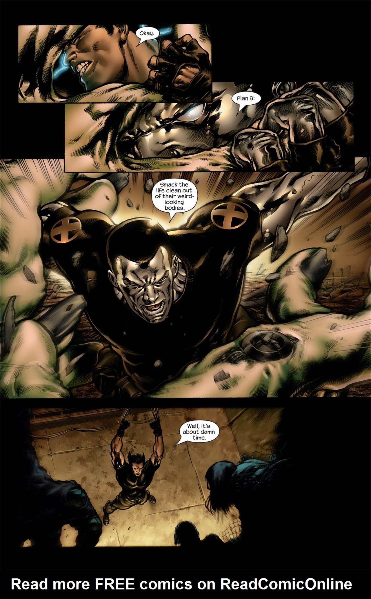 Read online Ultimate Nightmare comic -  Issue #4 - 8