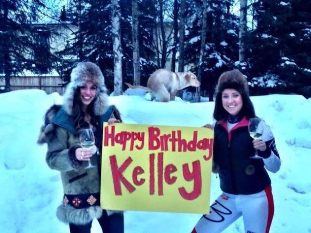 Será que Kelley gostou da homenagem?