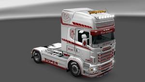 Scania RJL Norwegen Skin mod