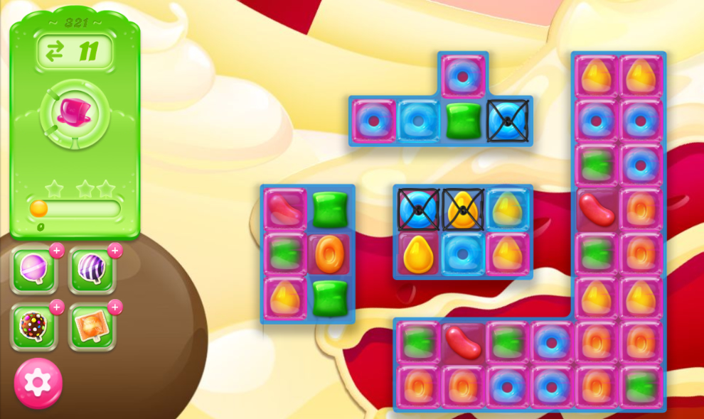 Candy Crush Jelly Saga 321