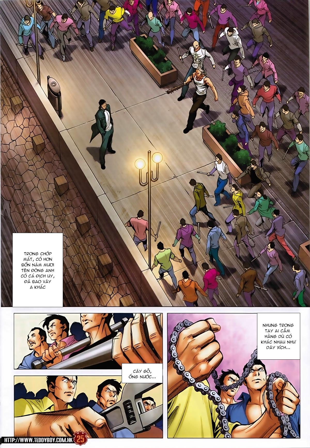 Người Trong Giang Hồ - Chapter 1589: Thu thập A Khắc - Pic 24