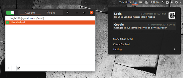 Gnome Email Notifications App Mailnag 1 3 Adds Support For
