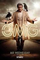American Gods Series Poster Ian McShane
