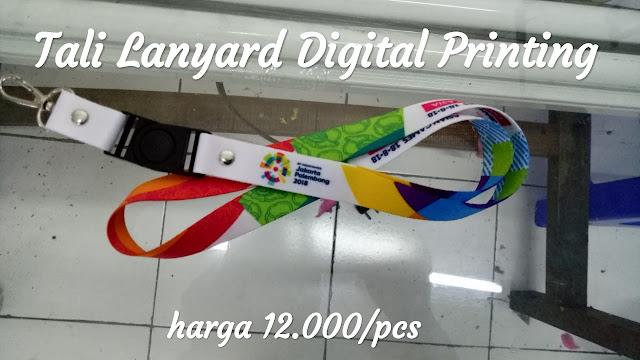 Pusat cetak tali lanyard murah dan berkualitas di Jakarta