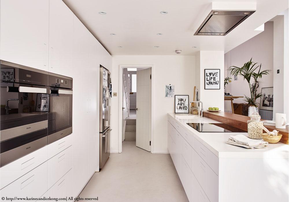 Blog wnętrzarski  design, nowoczesne projekty wnętrz Biała kuchnia w nowocz   -> Kuchnia Prowansalska Nowoczesna
