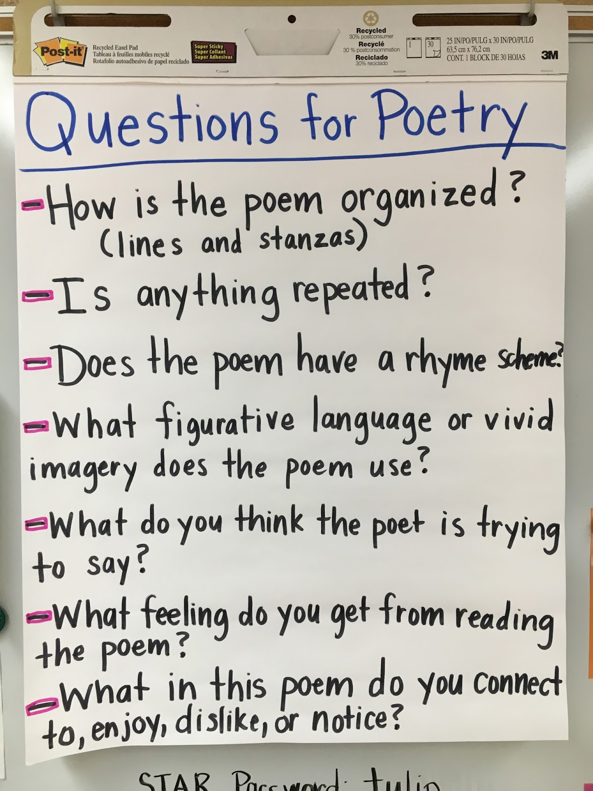 Middle School Teacher To Literacy Coach Poetry Workshop
