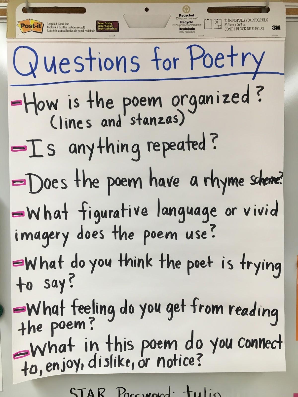 Poetry Workshop The Literacy Effect