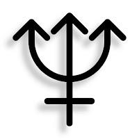 Symbol of Sea God