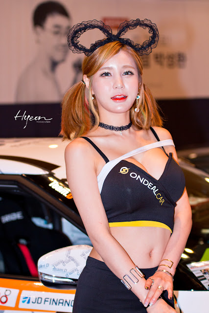 4 Park Soo Yu - Seoul Auto Salon - very cute asian girl-girlcute4u.blogspot.com
