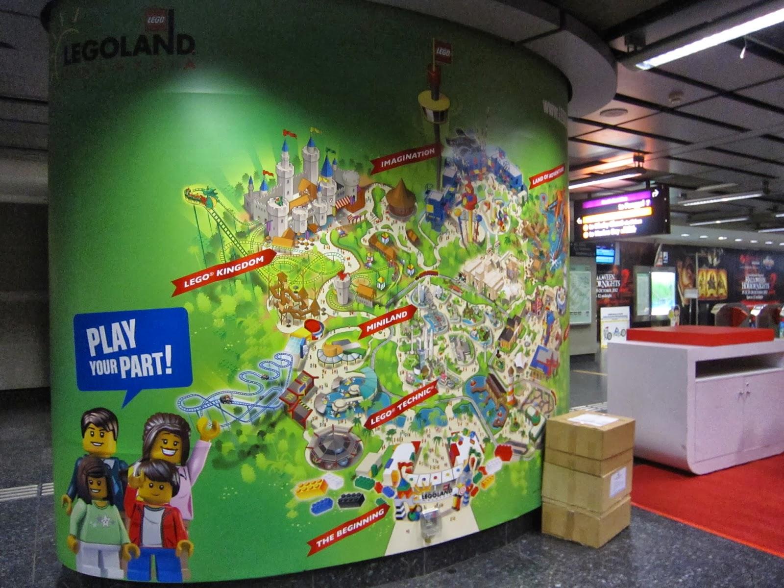 Alan 's 遊記部部樂: 星馬 Legoland 之旅 Day 4 (新加坡-濱海灣花園-魚尾獅公園)