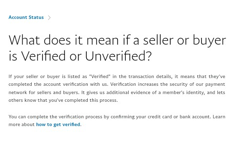 Can i Send and Receive funds with Unverified PayPal Account