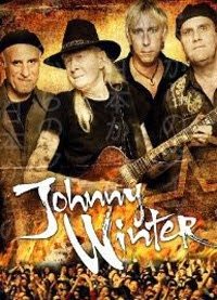 Conciertos de Johnny Winter en Madrid, Barcelona, Bilbao y Mallorca en mayo 2014
