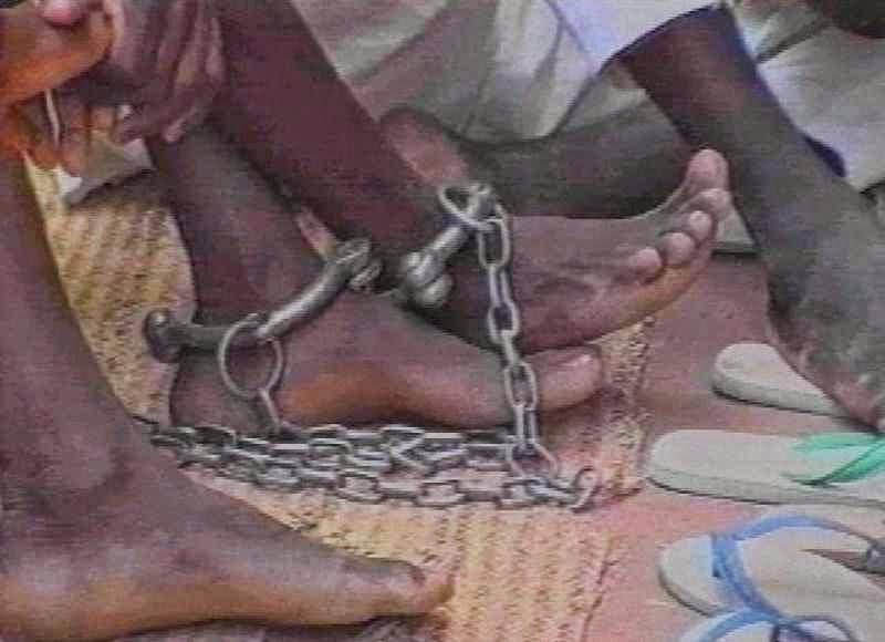 A escavidaã é praticada de longa data no Sudão pelos islâmicos que cumprem os ensinamentos do Corão