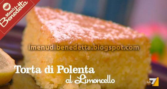 Torta Di Polenta Al Limoncello La Ricetta Di Benedetta Parodi
