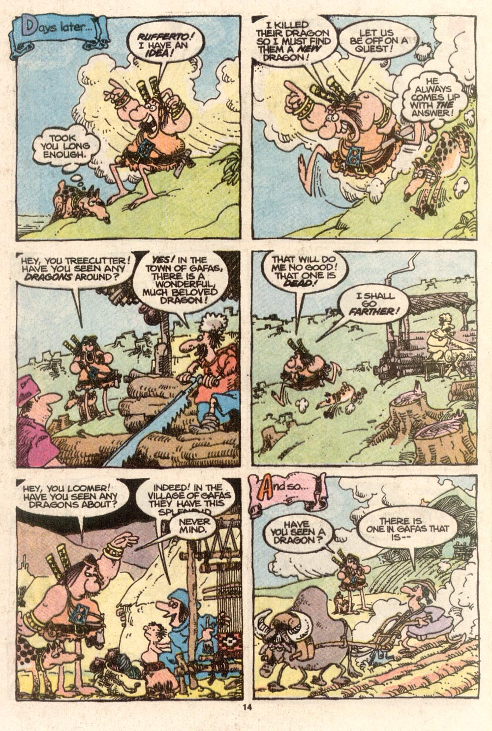 Read online Sergio Aragonés Groo the Wanderer comic -  Issue #67 - 10