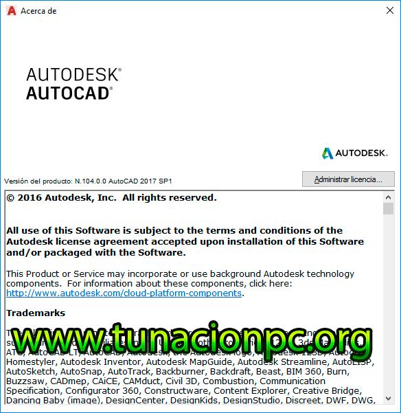 Autodesk AutoCAD 2017 Imagen