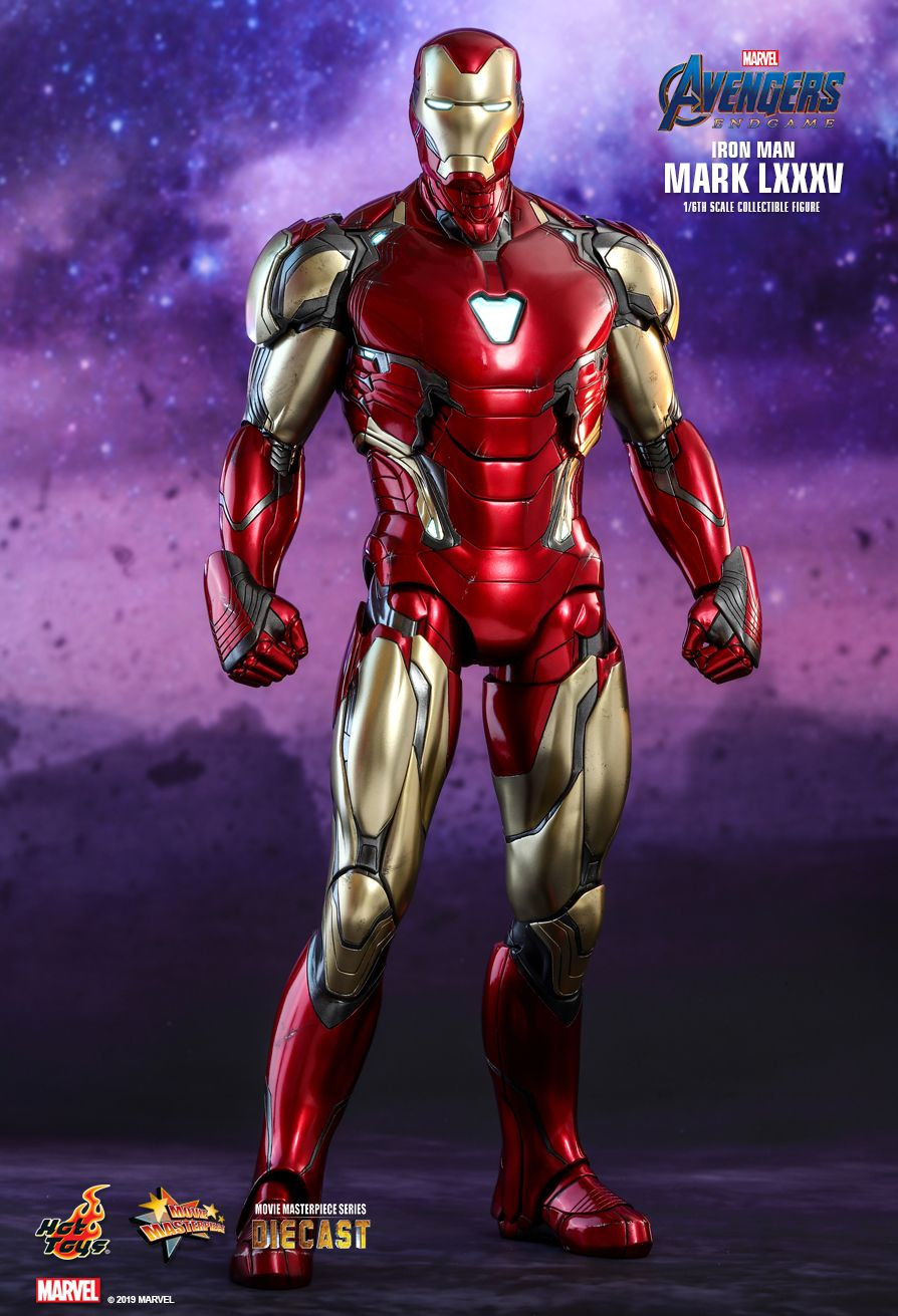Hot Toys Avengers: Endgame Iron Man LXXXV 1/6 Scale Figure