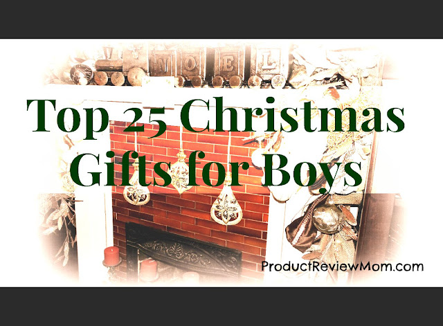 Top 25 Christmas Gifts for Boys  via  www.productreviewmom.com