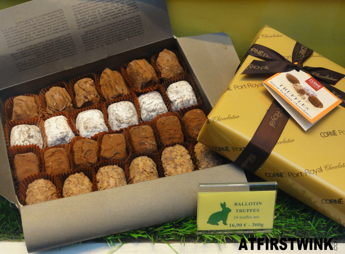 Corné Port Royal ballotin truffles