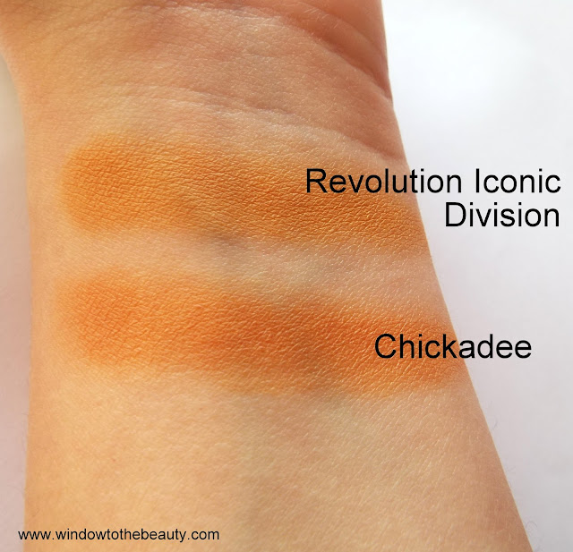 Makeup Geek Chickadee  cheap dupes swatches