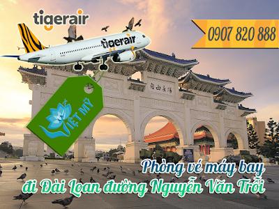 Phòng vé máy bay đi Đài Loan đường Nguyễn Văn Trỗi
