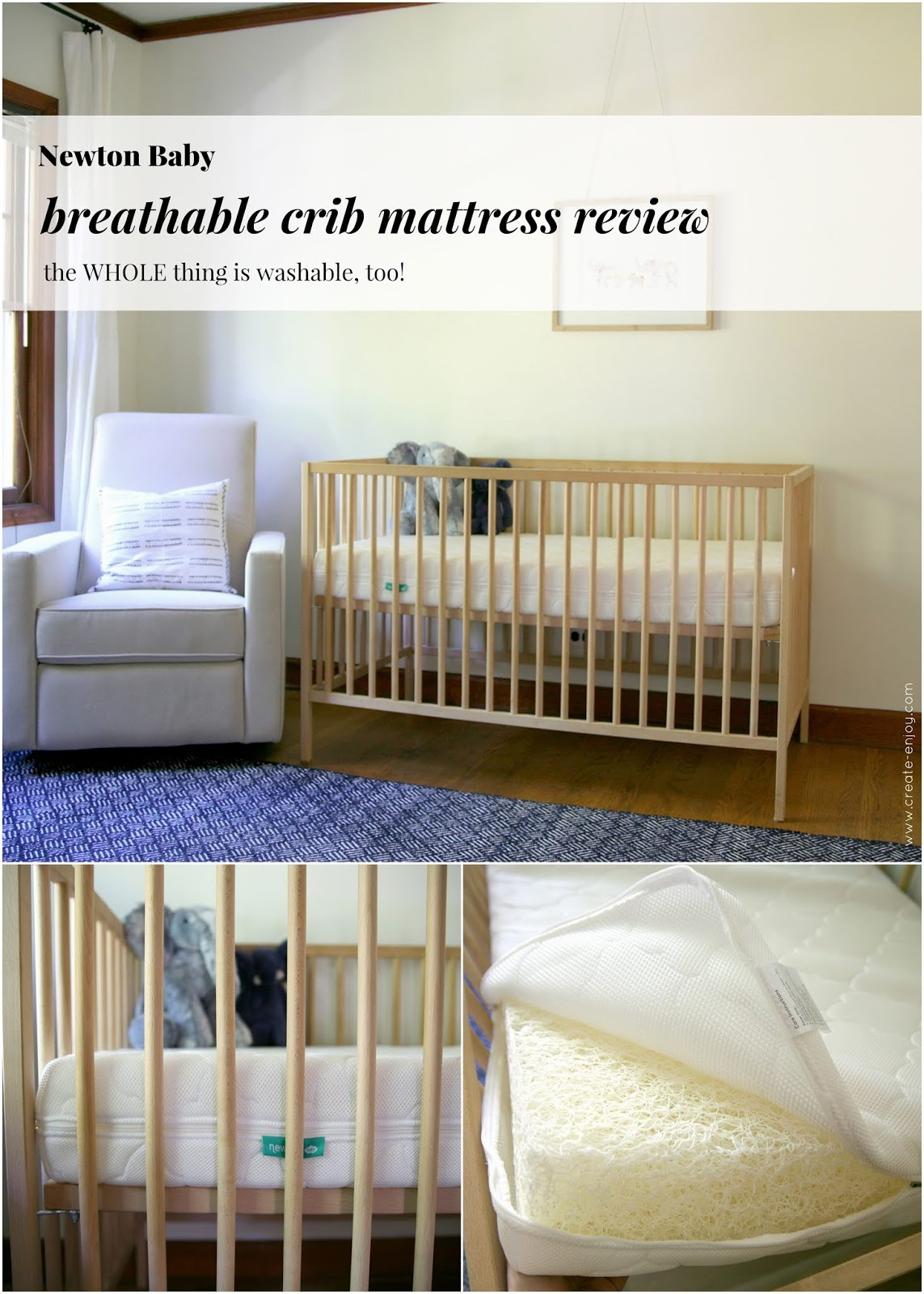 Newton Breathable Mattress Reviews Nursery Progress And Newton Baby Crib Mattress Review Create Enjoy