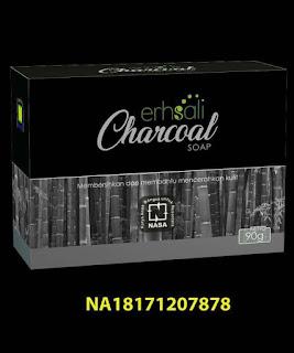 Gambar Erhsali Charcoal Soap