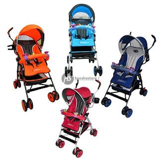 Jual Stroller Pliko Adventure 2 Murah - Kereta Dorong Bayi Lipat