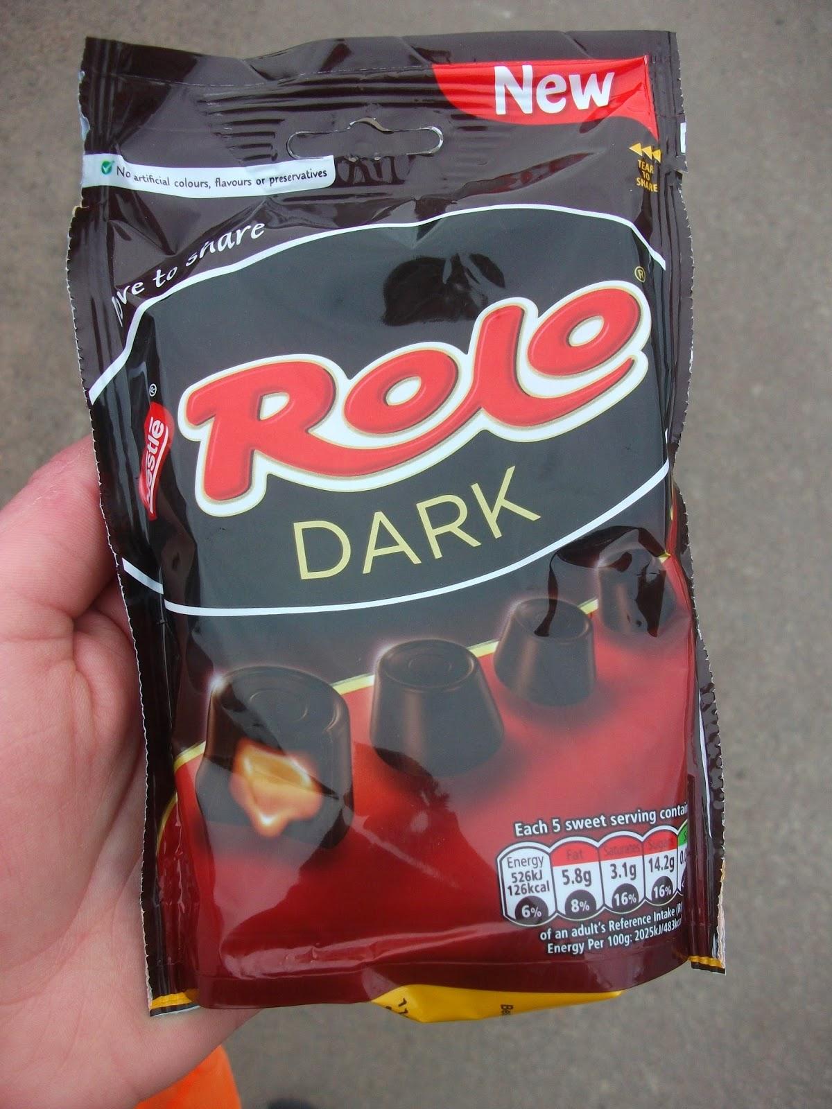 Dark Chocolate Rolos : chocolate, rolos, Nestlé, Chocolate, Review