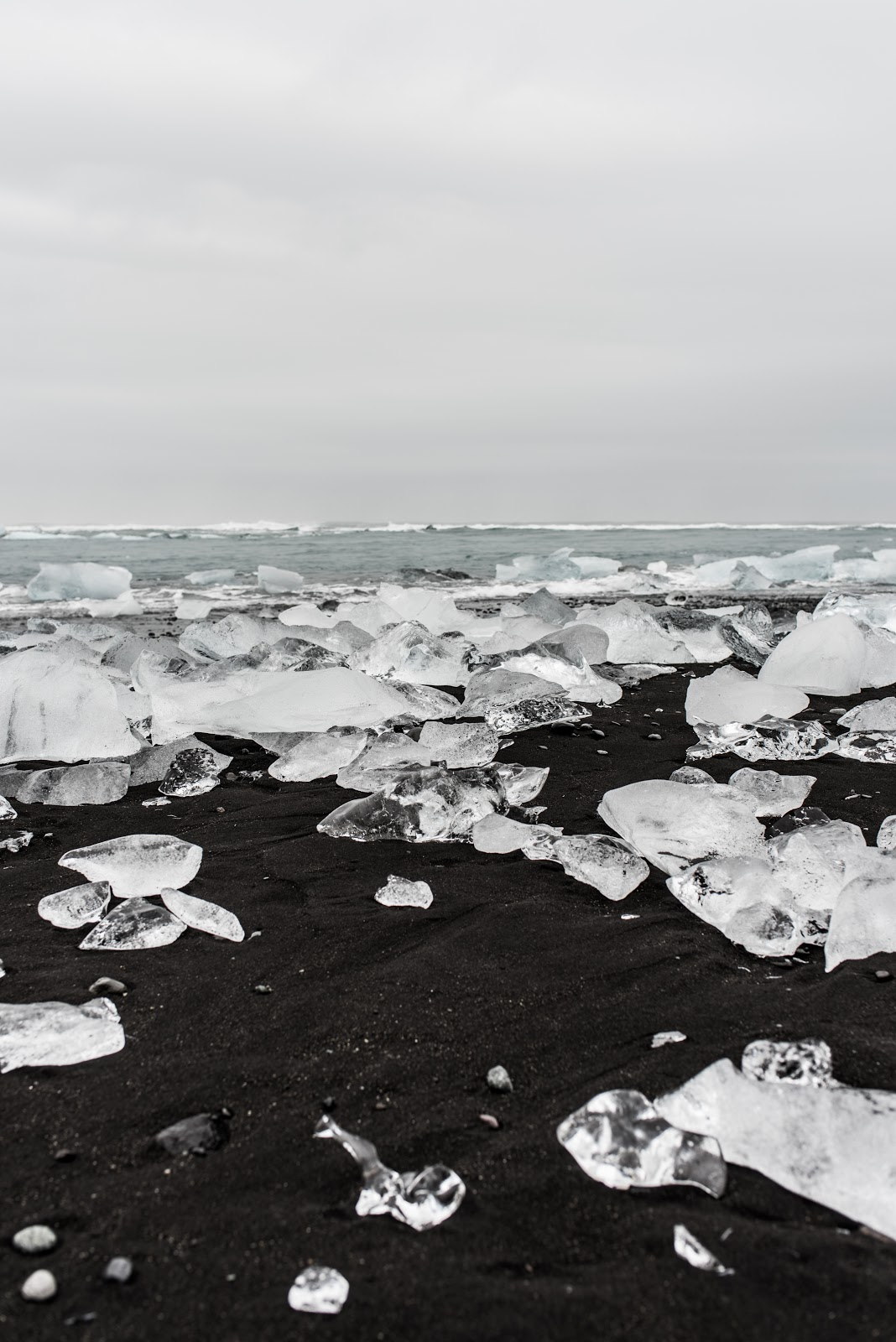 von vogue iceland travel black sand beach Jokulsarlon diamond beach