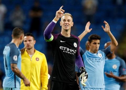 Trong trận lượt về với Steaua Bucharest, Joe Hart đã được tung ra sân. Đây có thể là trận đấu cuối cùng của anh trong màu áo xanh của Man City.