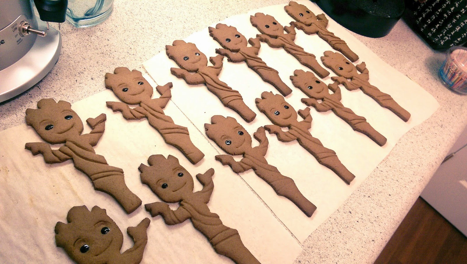 Groot Cake Topper Template