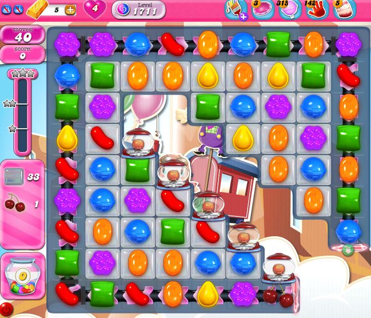 Candy Crush Saga 1711