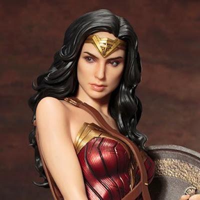 Wonder Woman per la linea ARTFX di Kotobukiya