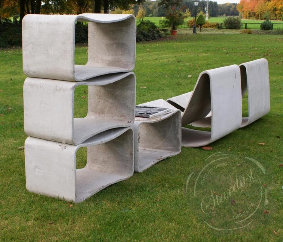 Mid-Century Modern Outdoor Garden Chairs / Modern Ouutdoor