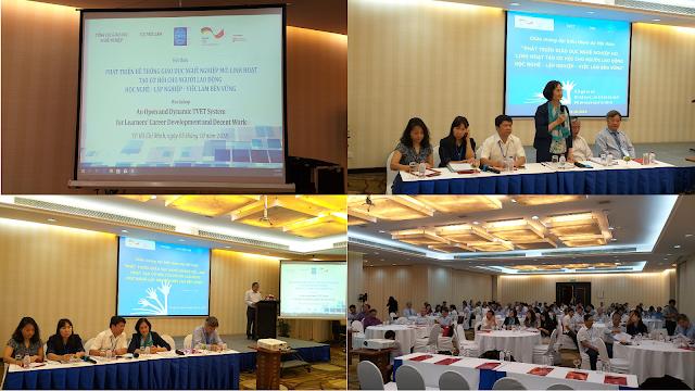 Tài nguyên Giáo dục Mở trong Giáo dục và Huấn luyện Kỹ thuật và Nghề nghiệp (OER trong TVET) - trong Hội thảo tại TP. Hồ Chí Minh