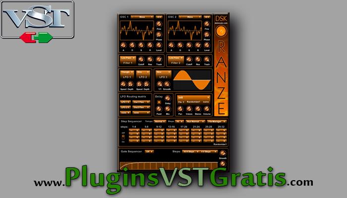 DSK OranZe - Plugin VST Sintetizador Grátis
