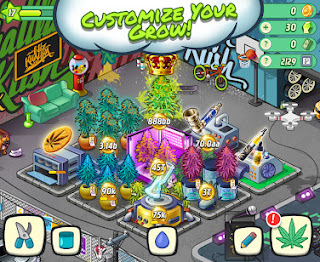 Wiz Khalifa's Weed Farm Mod Apk Unlimited Money for Android