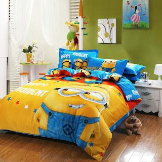 dormitorio tema minios