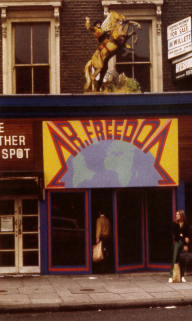 Mr Freedom Boutique 430 Kings Road London 1970s book blogger