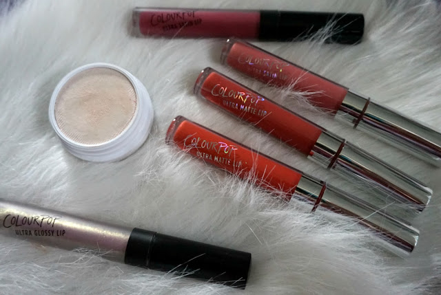 colourpop up and away lipsticks lipgloss monster highlighter ultra satin lip